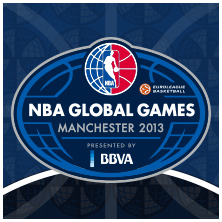 NBA Global Games Manchester 2013, presented by BBVA