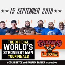 World's Strongest Man Tour Finals