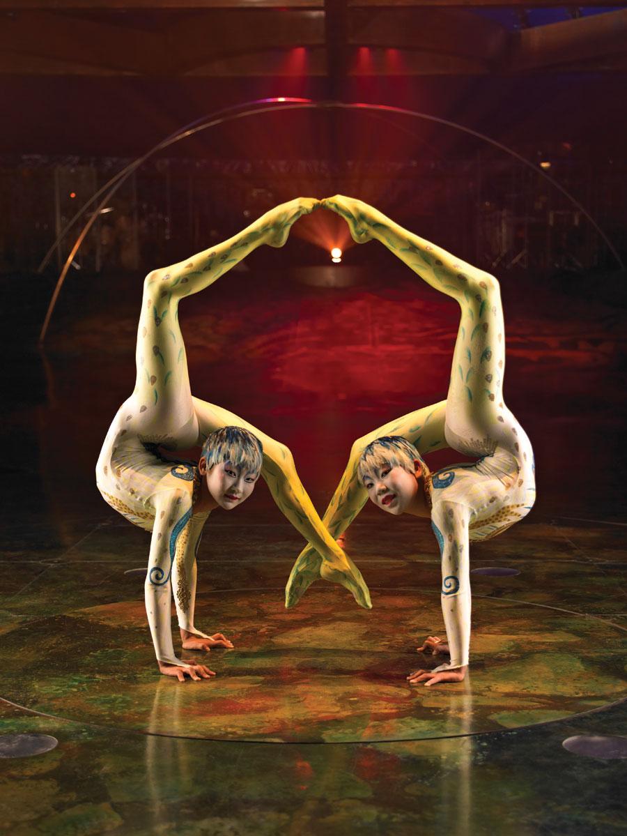 В цирке голые