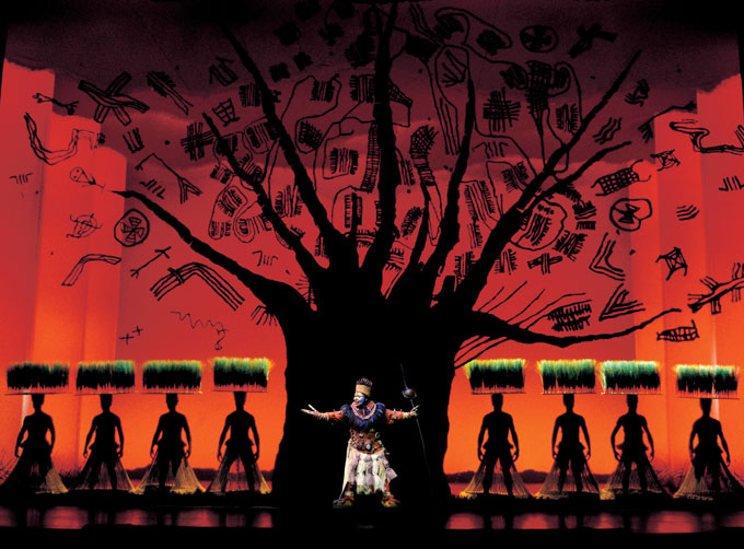 Disney's The Lion King - Lyceum Theatre London - The Lion King tickets - Rafiki