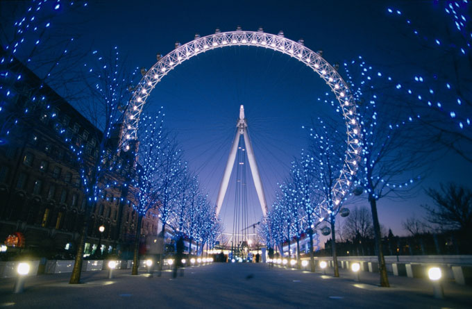 The London Eye - The London Eye tickets - at night