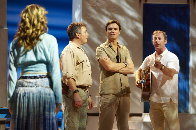 Mamma Mia! - Novello Theatre London - Scene from Mamma Mia!