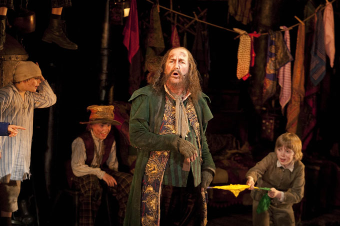 Oliver! - Russ Abbot as Fagin - Photo by Catherine Ashmore
