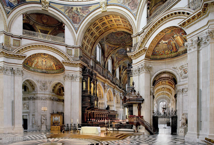 St Paul's Cathedral - St Paul's tickets - the stunning interior