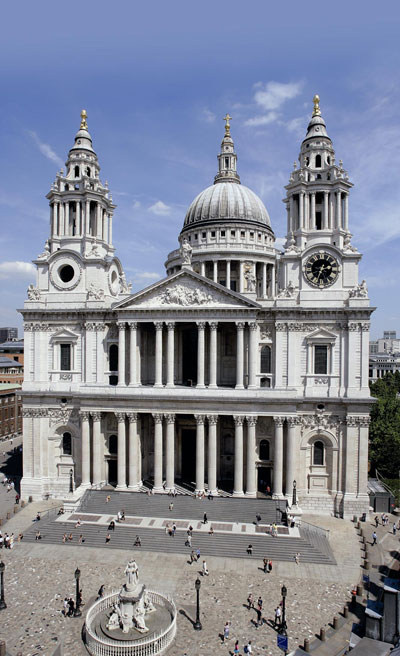 St Paul's Cathedral - St Paul's tickets - the cathedral from outside