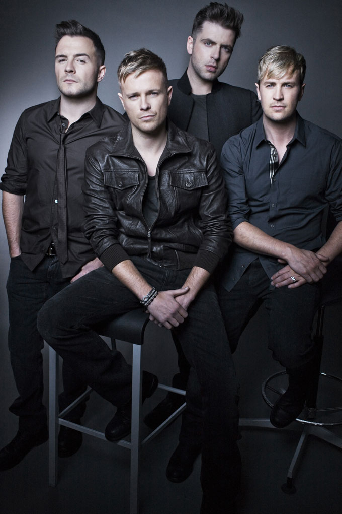 Westlife - Westlife tickets - Shane, Nicky, Mark and Kian