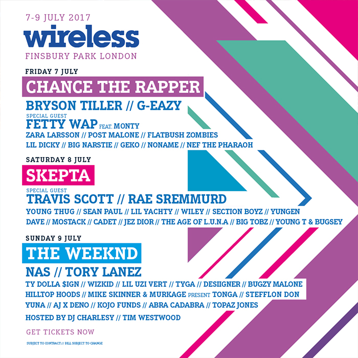 Wireless Festival - Wireless Festival new line-up
