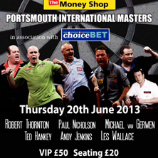 Portsmouth International Masters - Tickets