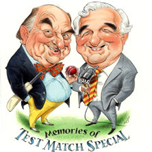 BLOFELD & BAXTER: MEMORIES OF TEST MATCH SPECIAL LONDON - Tickets