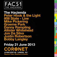 FAC51 THE HACIENDA LONDON - Tickets