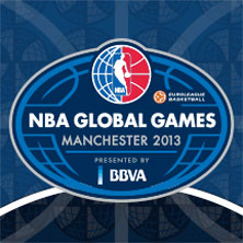 NBA Global Games Manchester 2013, presented by BBVA - Tickets