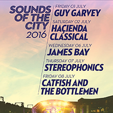 Sounds Of The City 2016 - Guy Garvey MANCHESTER - Tickets