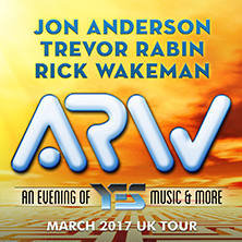 Yes feat Anderson, Rabin & Wakeman (ARW)