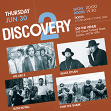 Discovery 2 showcase Ft. We-Are-Z, Black Dylan +  LONDON - Tickets