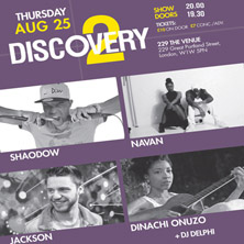 Discovery 2 showcase - Tickets