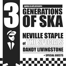 3 Generations Of Ska: Neville Staple of The Specials & Dandy Livingstone
