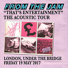"From The Jam ""That's Entertainment"" The Acoustic Tour"