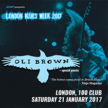 OLI BROWN + support CHLOE MARRIOTT + RIVAL KARMA
