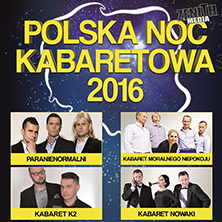 Polska Noc Kabaretowa 2016 LONDON - Tickets