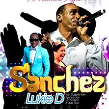 Sanchez With Live Band And Full Support