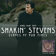 Shakin Stevens - Echoes Of Our Times Tour 2017
