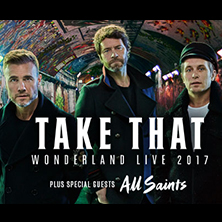 Take That Wonderland Live