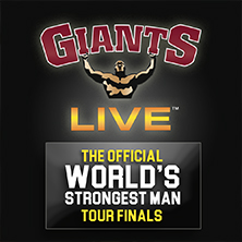 The Official World's Strongest Man Tour - Tickets
