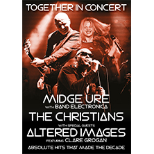 Midge Ure With Band Electronica, The Christians & Altered Images