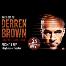 Derren Brown: Underground - Tickets
