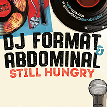 Dj Format & Abdominal EDINBURGH - Tickets