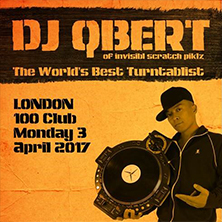 Dj Q-Bert Of Invisibl Scratch Piklz, Jim Needles