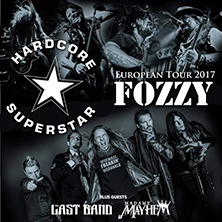Fozzy + Hardcore Superstar