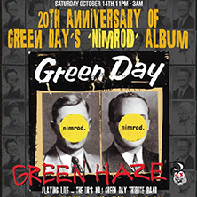 Green Day 'nimrod' 20th Anniversary Celebration Party