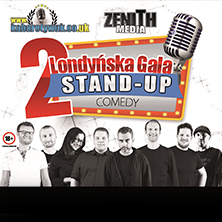 2 Londynska Gala Stand-Up LONDON - Tickets