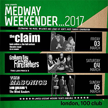 """Medway Weekender"" GRAHAM DAY & THE FOREFATHERS"