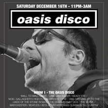 Oasis Disco MANCHESTER - Tickets