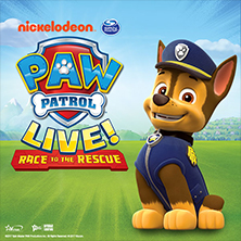 Paw Patrol Live! Race To The Rescue - Tickets