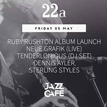 Ruby Rushton Album Launch + Neue Grafik