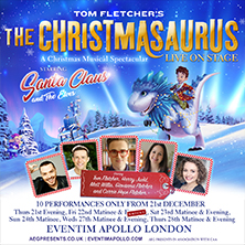 The Christmasaurus Live On Stage