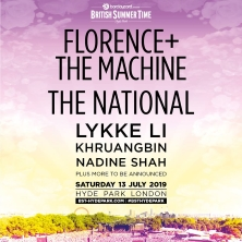 British Summer Time In Hyde Park - Florence + The Machine & The National
