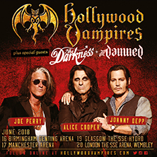 Hollywood Vampires Plus Special Guests The Darkness & The Damned