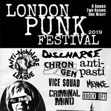 London Punk Festival 2019: Anti-Nowhere League
