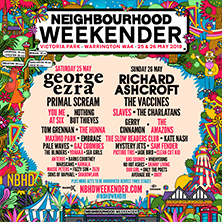 Neighbourhood Weekender 2019 - Weekend Tickets