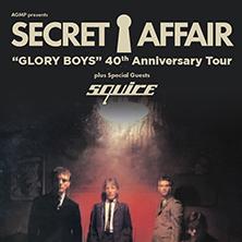 Secret Affair ´´Glory Boys´´ 40th Anniversary Tour 1979-2019
