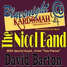 Bluesnight With The Nicol Band And David Barton