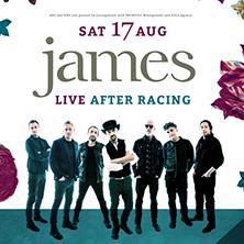 James - Live After Racing