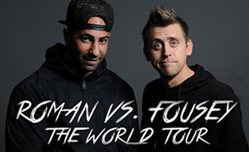 Roman Vs. Fousey: The World Tour